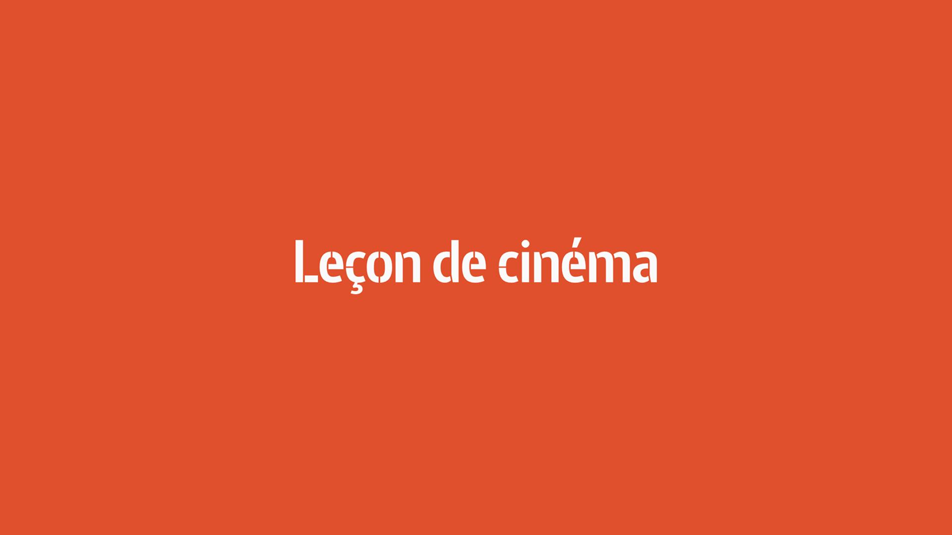 Leçon de cinéma