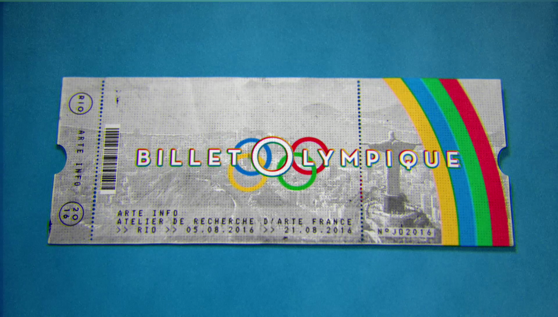 Billet olympique